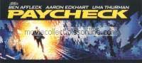Paycheck Media Screening Invitation