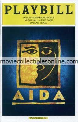 Aida Playbill