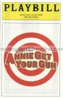 Annie Get Your Gun Playbill