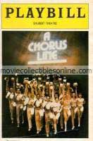 Chorus Line Playbill