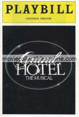Grand Hotel Playbill