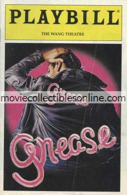 Grease Playbill