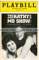 Kathy & Mo Show: Parallel Lives Playbill
