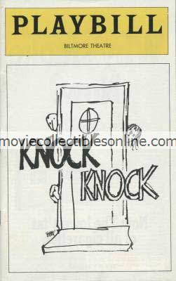 Knock Knock Playbill