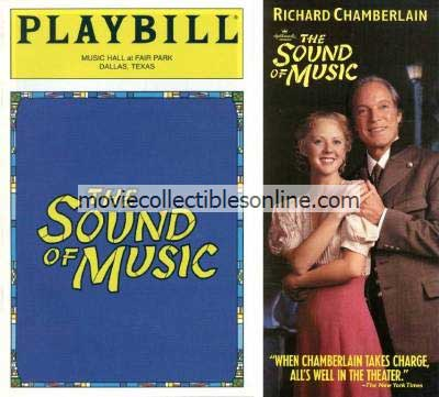Sound of Music Playbill & Handbill