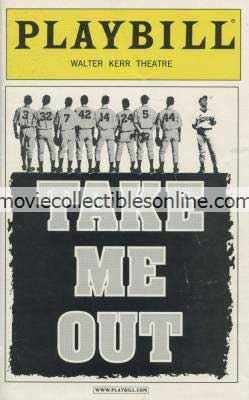 Take Me Out Playbill
