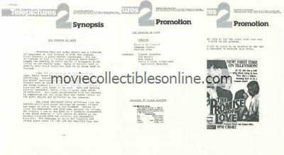 Promise of Love Press Kit